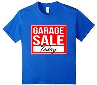 Garage Sale Shirt - Garage Sale Today Bright Sign Shirt