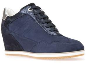 Geox Illusion 34 Wedge Sneaker
