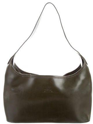 Longchamp Leather Hobo