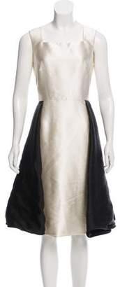 Bibhu Mohapatra Barathea Sleeveless Dress