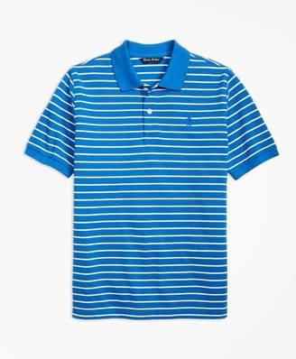 Brooks Brothers Boys Short-Sleeve Thin Stripe Pique Polo Shirt
