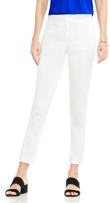 Women's Vince Camuto Double Weave Cotton Blend Ankle Pants $79 thestylecure.com