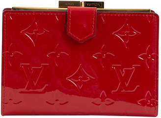 Louis Vuitton Red Patent leather Wallets