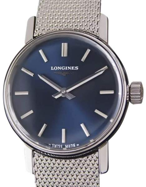LonginesLongines Stainless Steel Manual 24mm Womens Watch Year 1980