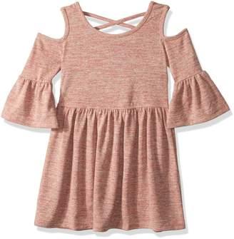 My Michelle Big Girls' Open Should Criss Cross Back Dress