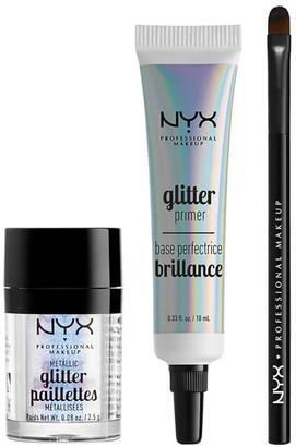 NYX Glitter Eye Kit (Worth 24.00)