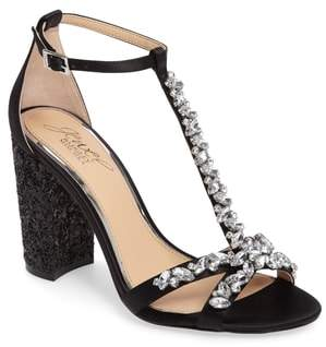 Badgley Mischka Carver Block Heel Sandal