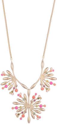 Trina Turk Retro Botanics Flower Burst Necklace