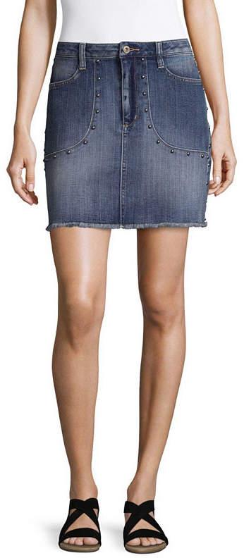 ARIZONA Arizona Denim Skirt-Juniors