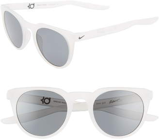 Nike KD Trace 49mm Round Sport Sunglasses