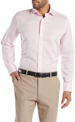 Peter Millar Solid Regular Fit Linen Blend Shirt