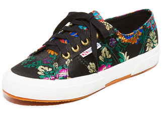Superga 2750 Mandarin Embroidery Sneakers $99 thestylecure.com
