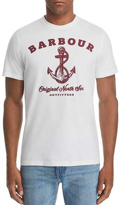 Barbour Anchor Logo Graphic Tee