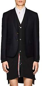 Thom Browne Men's High-Armhole Wool Three-Button Sportcoat-Navy