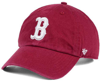 '47 Boston Red Sox Cardinal and White Clean Up Cap