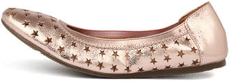 Walnut Melbourne Ava star ballet Rose gold Shoes Womens Shoes Casual Flat Shoes