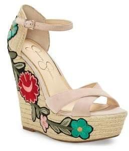 Jessica Simpson Apella Floral Espadrilles