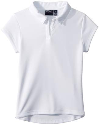 Nautica Short Sleeve Performance Polo Girl's Clothing