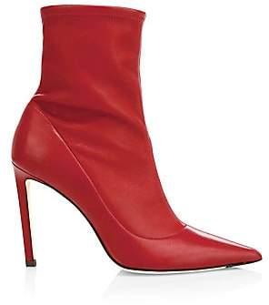 Jimmy Choo Women's Brin Leather Sock Booties