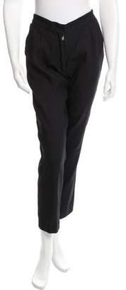 Giada Forte Crepe Straight-Leg Pants