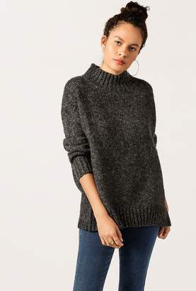 Azalea Mock Neck Cuff Sweater