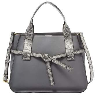 Fossil Willow Satchel Handbags Pewter