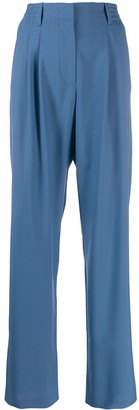 Indress wide-leg tailored trousers