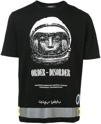 Undercover Order-Disorder reflective T-shirt