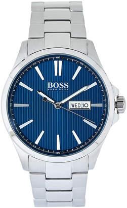 HUGO BOSS 1513533 Silver-Tone The James Watch
