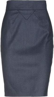 Blumarine Knee length skirts - Item 35256498JH