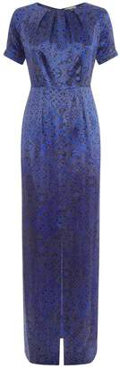 Beulah London Painted Lady Blue Tile Dress