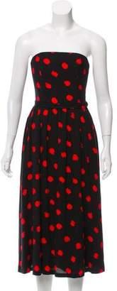 Alice + Olivia Belva Strapless Dress w/ Tags