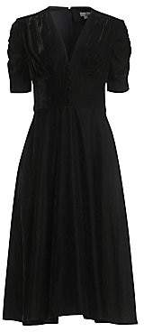 Shoshanna Women's Lakewood Velvet A-Line Dress - Size 0