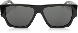 Saint Laurent SL M17 Rectangle Frame Acetate Men's Sunglasses