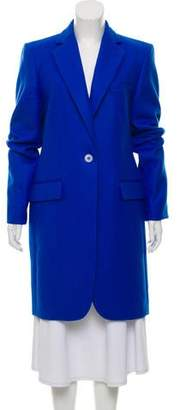 Stella McCartney Deconstructed Wool Coat