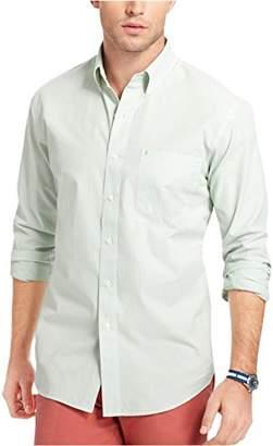 Izod Men's Essential Striped Long Sleeve Shirt (Regular and Slim Fit)