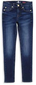 7 For All Mankind Little Girl's & Girl's Luxe Sport Skinny Jeans