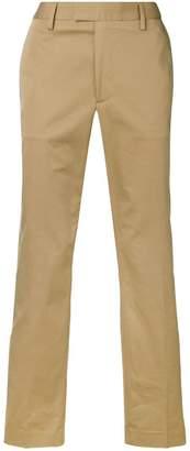 Acne Studios straight slim chino trousers