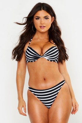 boohoo Paphos Mix & Match Nautical Bikini Brief