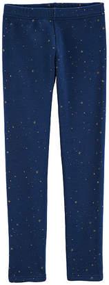 Carter's Star Fleece Elastane Leggings - Preschool Girls
