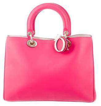 Christian Dior Leather Lady Bag