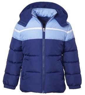 Cherokee Baby Toddler Girl Colorblock Puffer Jacket Coat
