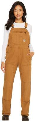 Carhartt Crawford Double Front Bib Overalls Women's Overalls One Piece