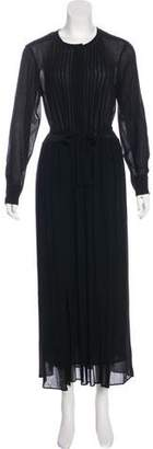 Etoile Isabel Marant Belted Maxi Dress