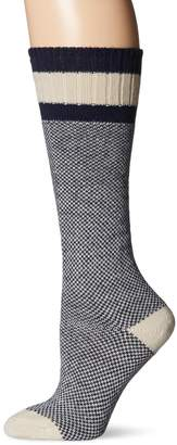 Wigwam Women's R Hudson Bay Midweight Classic Fashion and Function Crew Sock
