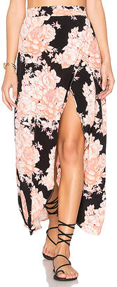 Cleobella Jack Wrap Skirt in Black $139 thestylecure.com