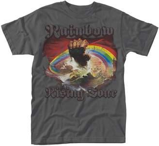 Rainbow T Shirt Rising Tour 76 new Official Mens Grey