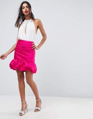 Asos Design High Waisted Mini Puffball Skirt