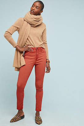 AG Jeans The Abbey Sateen High-Rise Skinny Ankle Jeans
