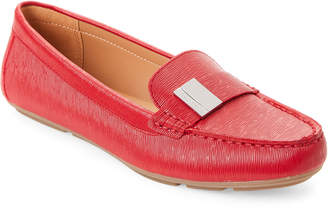 Calvin Klein Crimson Red Lisa Driving Loafers